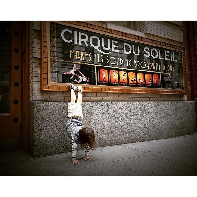 ADORABLE! -  #handstand #handstandshoutouts #cirquedusoleil #paramourbway #broadway #broadwayshow #lyrictheatre #theatre #stage #actor #actress #musicals #instatheatre #star #photooftheday #goodshow #instagood  #theatrekid #theatrelife #broadwaymusical #memories #collectingmemories