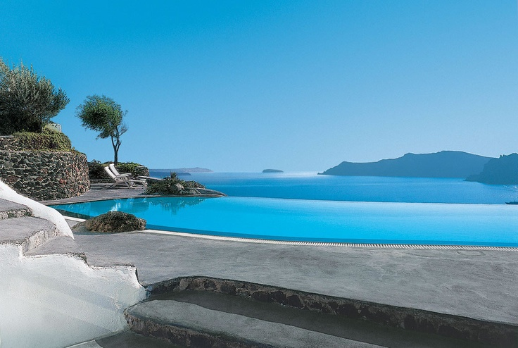 Santorini, GreeceSantorini Greece, Favorite Places, Oiasantorini, Amazing Places, Travel, Oia Santorini, Infinity Pools, Luxury Hotels, Perivolas Hotels