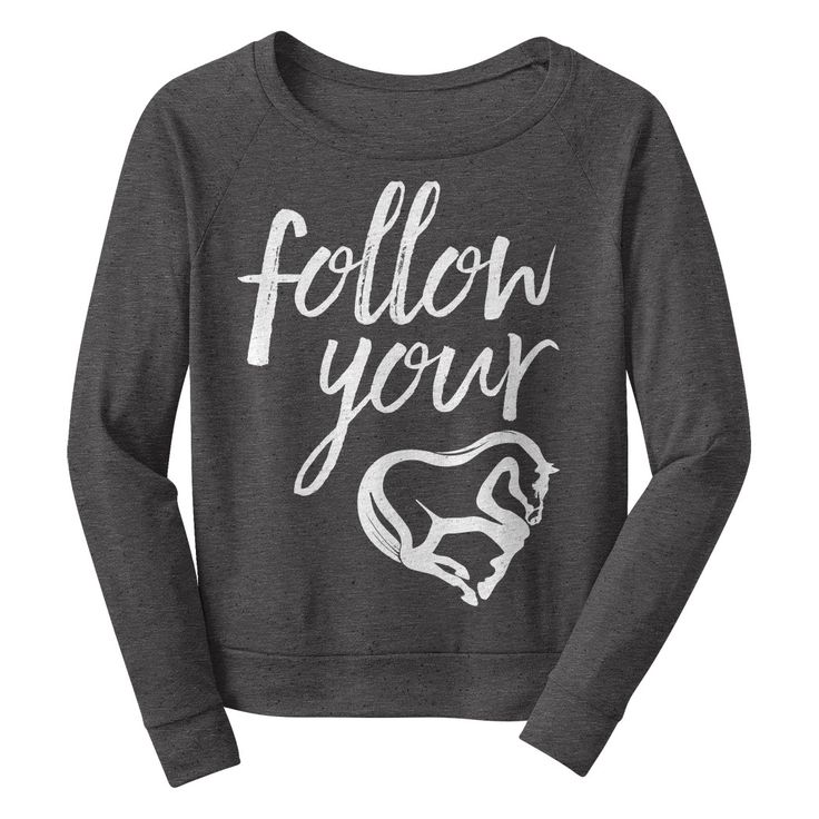 Follow your heart! This shirt was lovingly crafted and designed for a person that is tired of the ordinary! One Horse Threads is a brand that focuses on one of kind graphics, words of wisdom, feminine