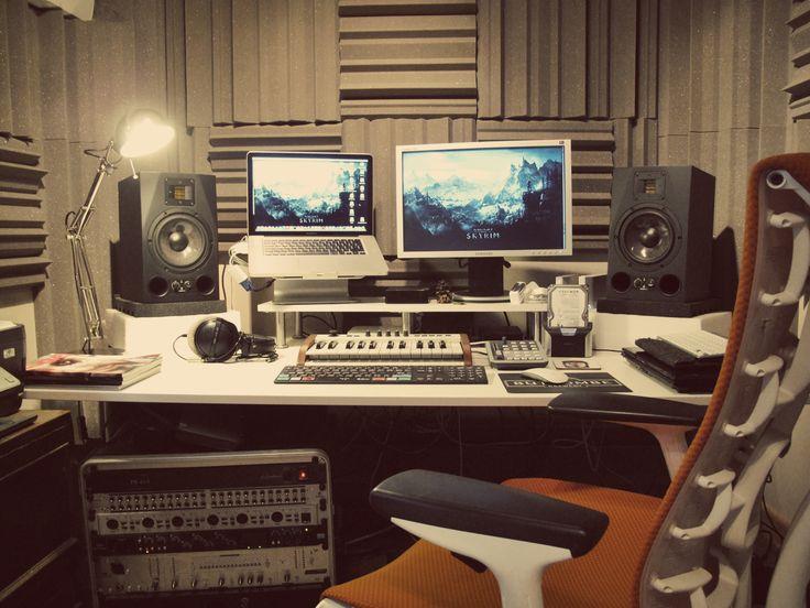 Recording setup - via Trashaudio.com