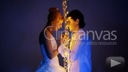 Check out this Couple Love Weddings HD Stock Footage Clip. Static shot made in artificial lighting. Medium shot. 2011-08-26.