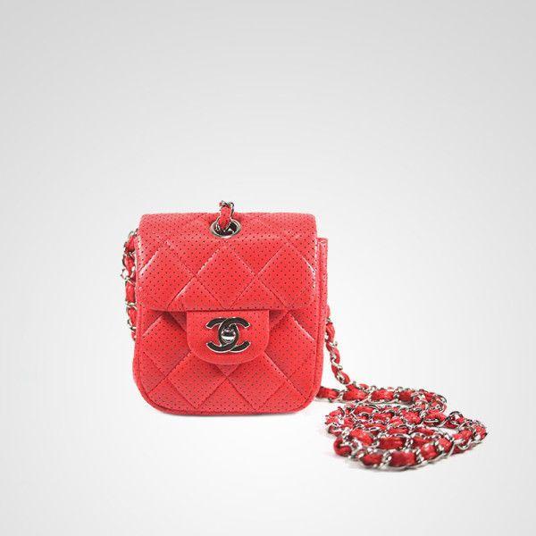 Chanel AUTÊNTICA Vermelho De Pele De Cordeiro Couro perfurado Mini Bolsa Flap Raro! | Roupas, calçados e acessórios, Bolsas e sacolas femininas, Bolsas | eBay!