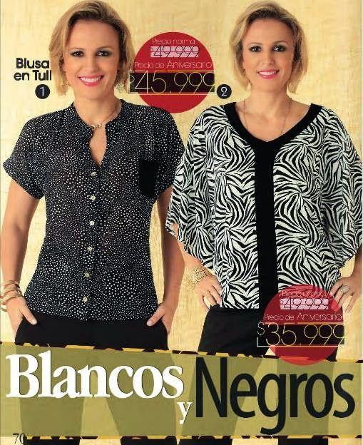 Blusas para señoras 2015 Danny Campaña 3. Ropa de moda para la mujer colombiana