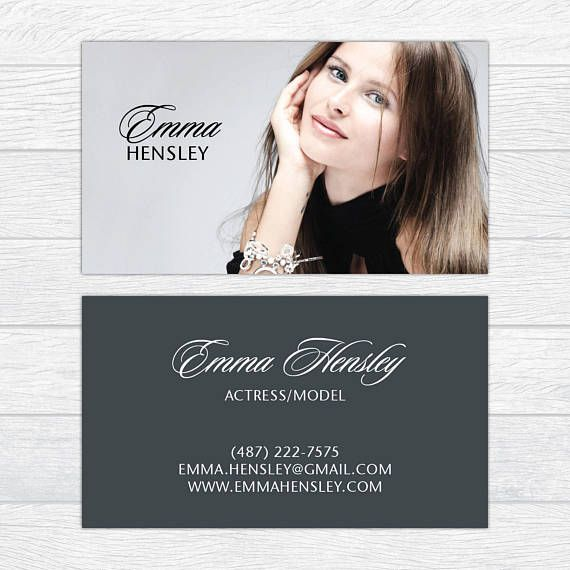 Modeling Business Cards Fashion Business Cards Professional Modeling Business Cards Actress B Fashion Business Cards Stylish Business Cards Business Fashion
