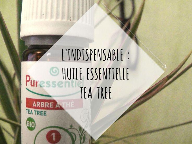 L'INDISPENSABLE : HUILE ESSENTIELLE TEA TREE / Aromathérapie & Soin Anti-poux naturel