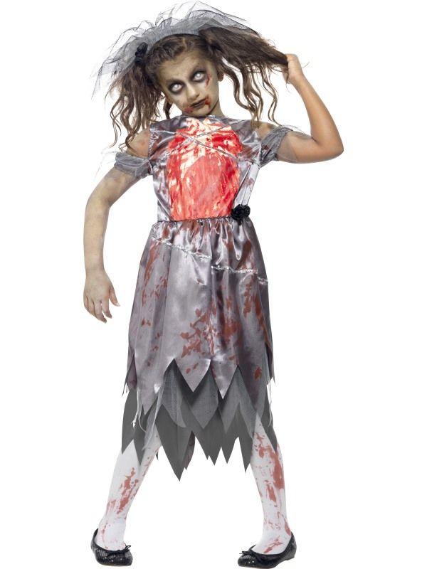 Costume enfant : La mariée zombie