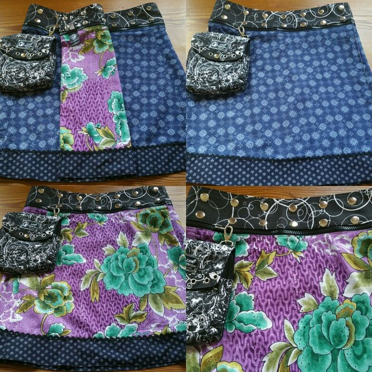 Zand amsterdam reversible skirt can be worn 4 different ways  fits size 6-16    Heartycraftylove.com