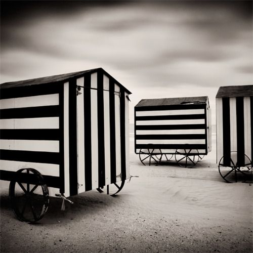 midnightmartinis:    untitled - by marc schmidtmayer: Houses Art, Marcschmidtmay Deviantart Com, Black And White, Midnight Martinis, Polly Houses, Circus Clocks, White Stripes, Carnivals Circus Festivals, Night Circus