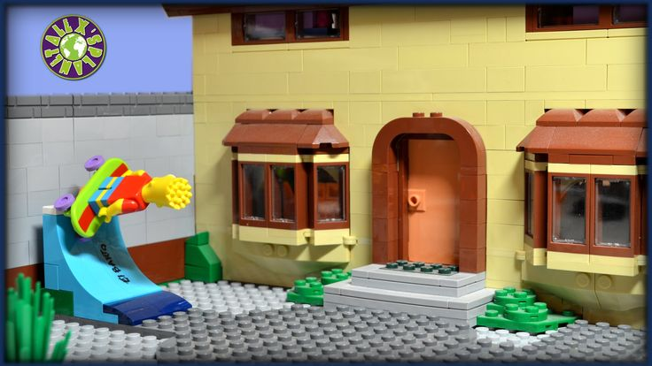 Lego Simpsons Shopping Movie.  Homer Simpson in Kwik E Mart.  Never eat ...