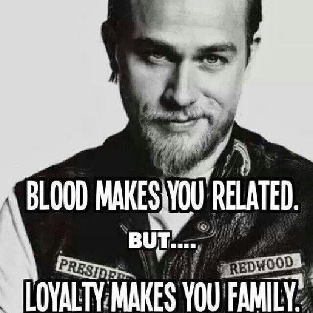 Sons Of Anarchy Jax - #LoyaltyMakesYouFamily #SOA
