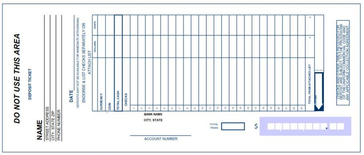 You are now able to store your client's receipts and Deposit Slip Template Excel Free online with help of free...