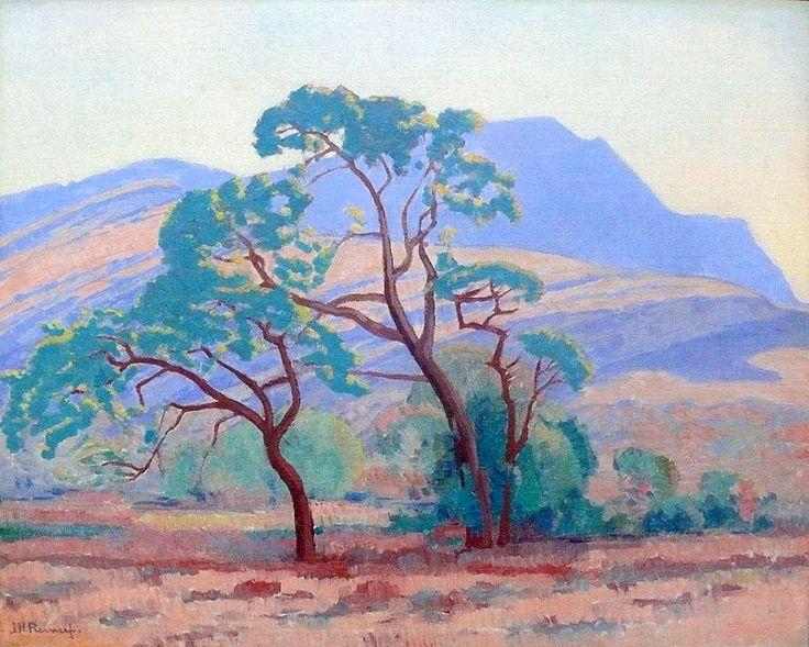 J.H. Pierneef - Bushveld Landscape