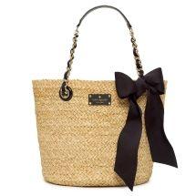 straw purse
