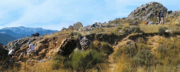 Treballs i descobertes al Jaciment de Montelleó. Prats i Sansor.