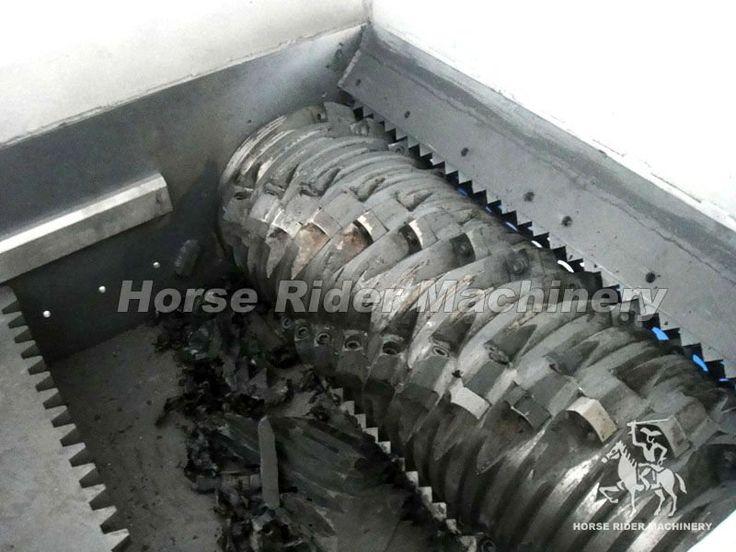 New Single Shaft Plastic Shredding Machine for sale / waste plastic shredder machine