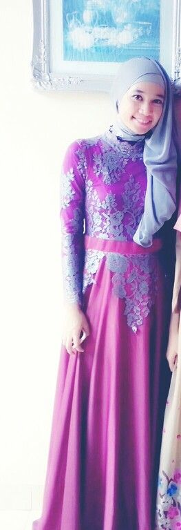 hijab dress in detail