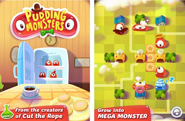 'Cut The Rope' Game Creators Launches New Mobile Game Called 'Pudding Monsters'