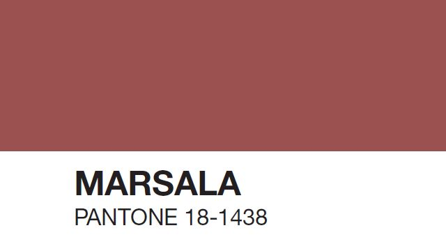 Marsala Named Pantone's 2015 Color of the Year | The Creators Project