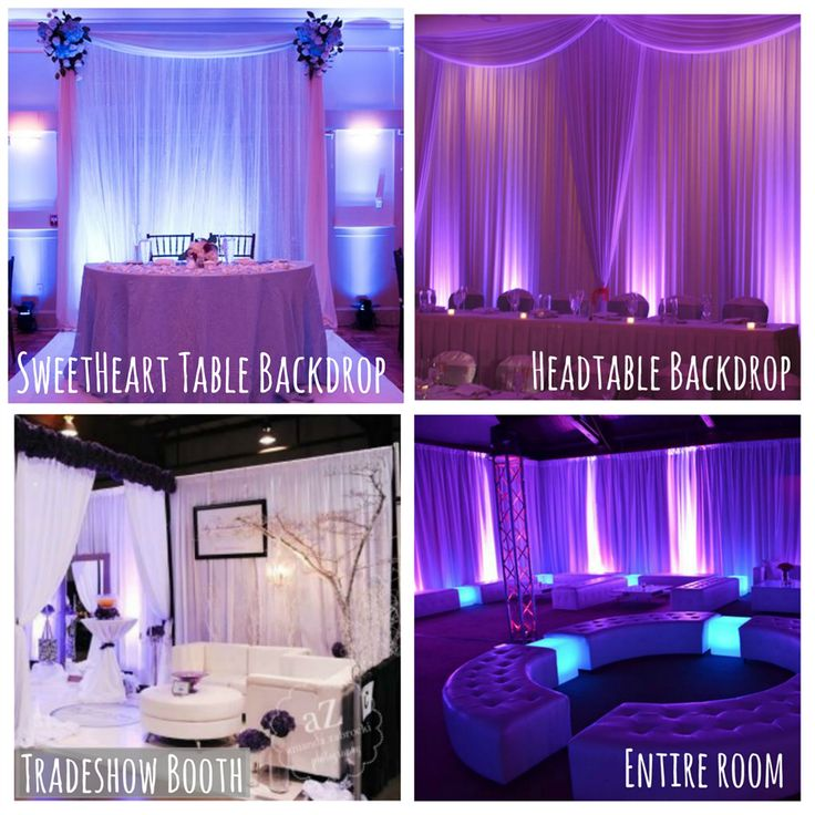 Easy Rentals: Love These #pipeanddrape #backdrop Ideas! #rentmywedding