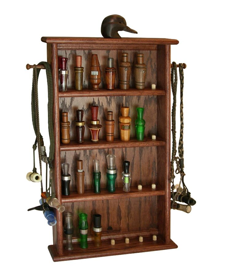 Duck call displaymaybe this would help my hubby keep up