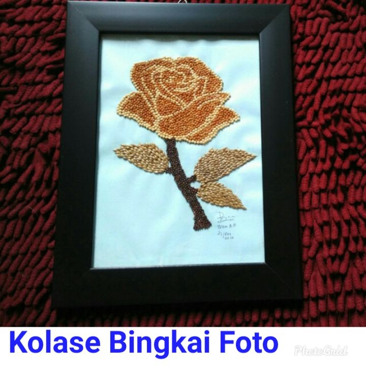 4400 Koleksi Cara Membuat Frame Kolase Foto Terbaik Menggambar Bunga Matahari Kolase Gambar Bunga