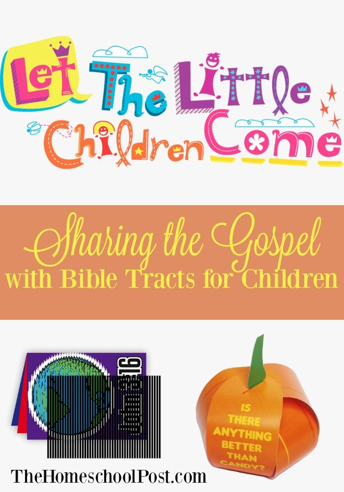 Try Bible tracts and evangelism tools for children with the resources from Let the Little Children Come.