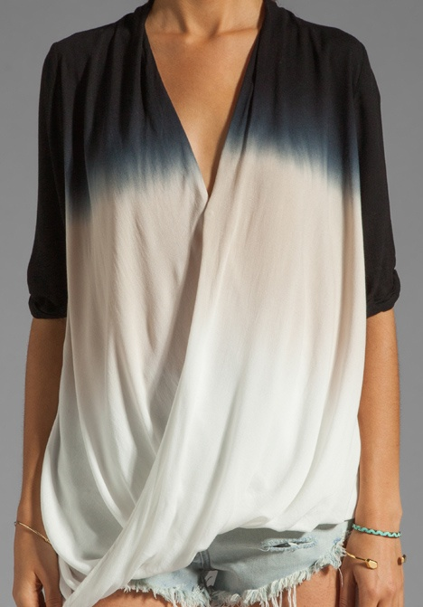 YOUNG, FABULOUS & BROKE Cora Top in Black Sunset Ombre at Revolve Clothing - Free Shipping!