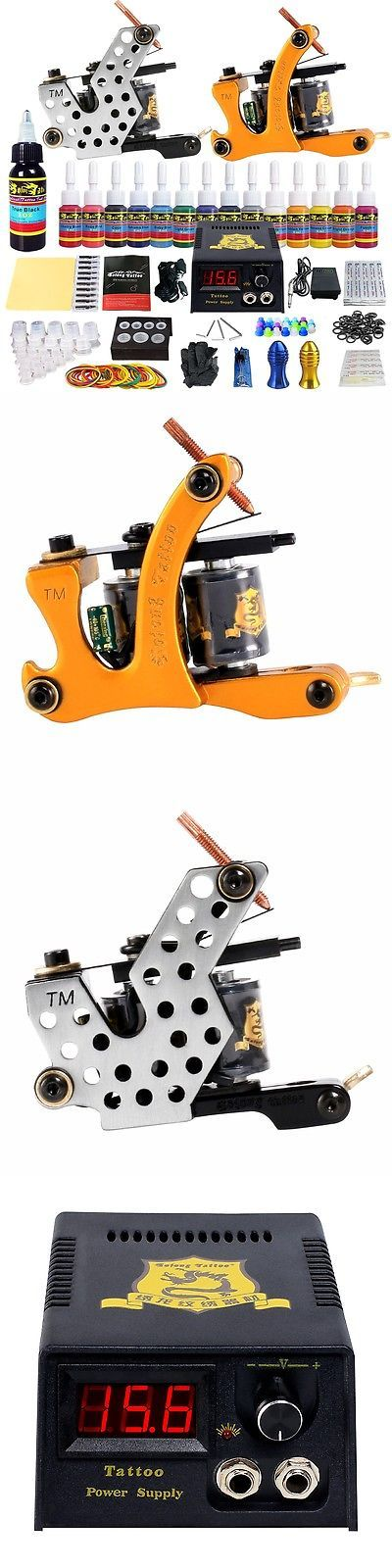 Tattoo Complete Kits: Solong Tattoo Complete Tattoo Kit Professional Tattoo Machine Power Boxtk212 BUY IT NOW ONLY: $31.64