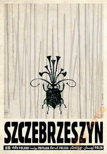 Poland, Szczebrzeszyn Szczebrzeszyn, Polska Kaja Ryszard Polish Poster