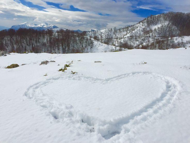 Verso Monte Zaccana  Castelluccio Superiore (PZ)