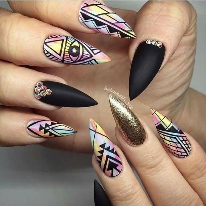 So dope nails pinterest nageldesign herbst - Pinterest nageldesign ...