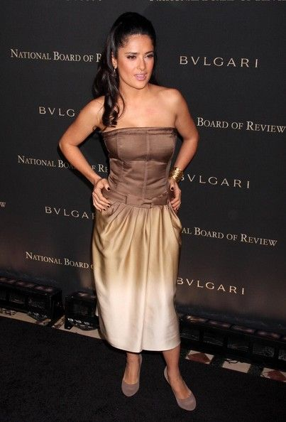 Salma Hayek Photos - Celebrities at the 2008 National Board Of Review Of Motion Pictures Awards Gala, Cipriani's 42nd Street, New York City, NY. - 2008 National Board Of Review Of Motion Pictures Awards Gala