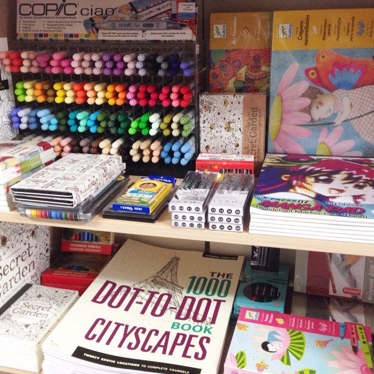 Creative art supplies for older kids. #foxshop #flyingfoxstudios