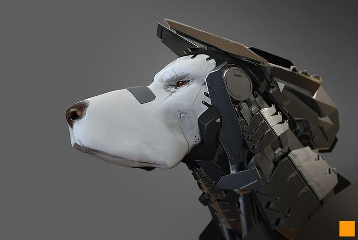 robot dogs fun art - photo #9