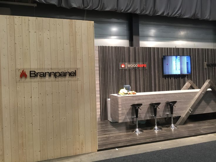 Exhibition stand, Woodify, Bygg Reis Deg 2015. Solid wood, spruce, fire retardant treated wood, Brannpanel (Brannpanel Natur Form).