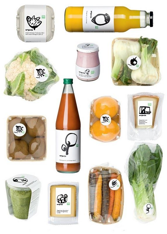 labels make a big difference to things! These are cute and make organic food interesting!