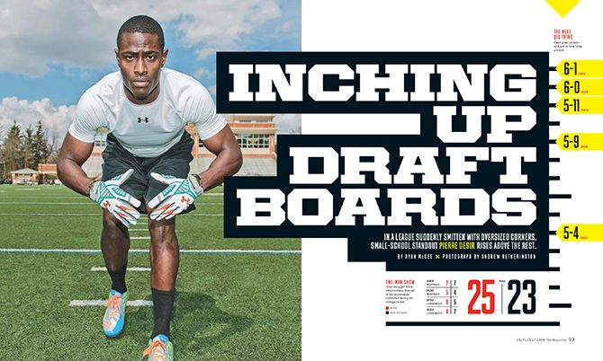 NFL Draft Issue 2014 - Chin Wang Design