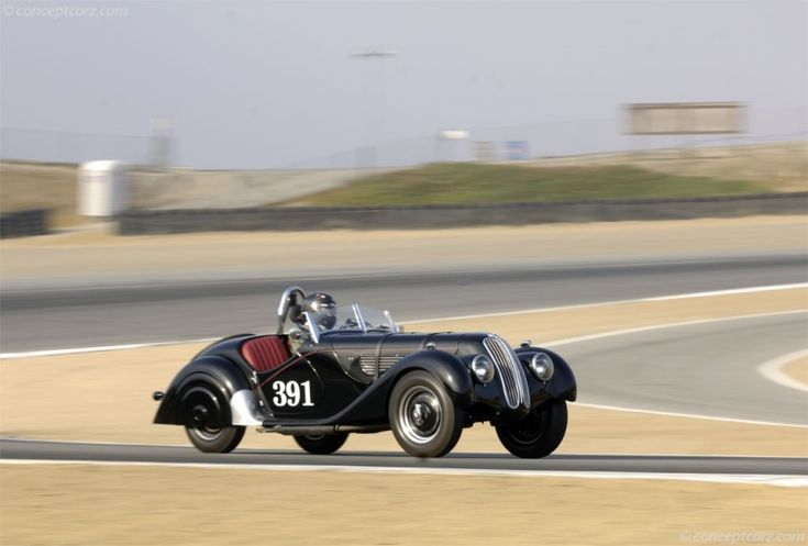 1937 BMW 328. Chassis number 56553.