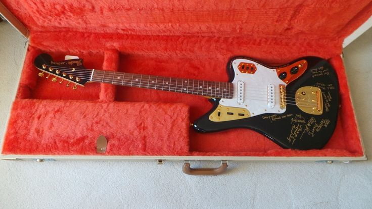 Fender Jaguar Guitar Center 30th Aniversary Owned by Marty Stuart