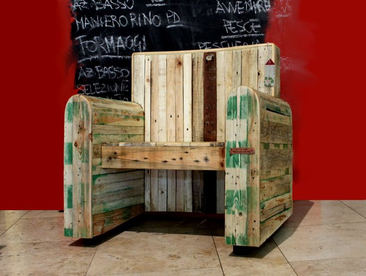 Pallet Kingchair – 1001 Pallets