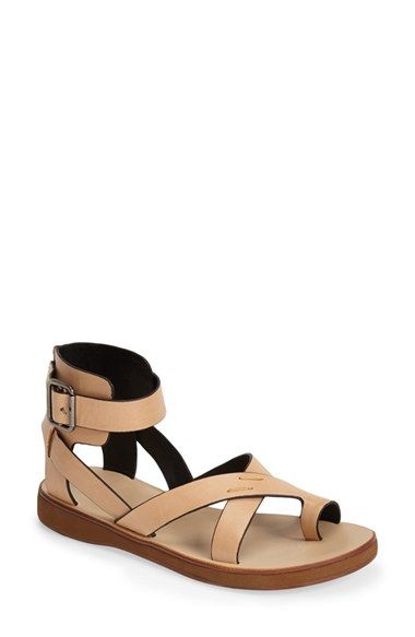 Kelsi Dagger Brooklyn 'Cancun' Leather Gladiator Sandal (Women) available at #Nordstrom
