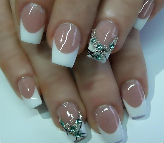 Unique Nail Art Designs: French Manicure & Variations Images On