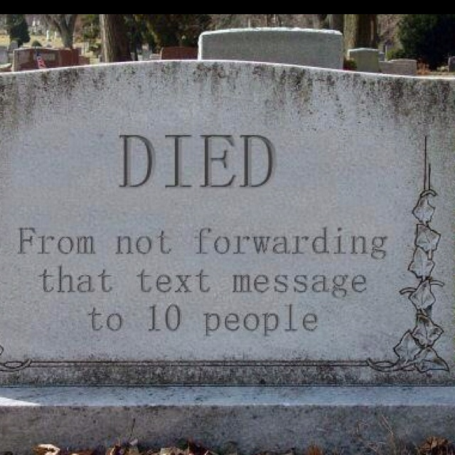halloween chain messages funny