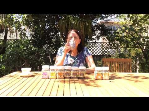 Vitality Organic Herbal Teas with therapeutic properties which can be dr...