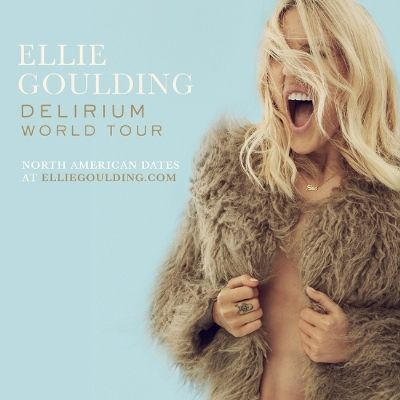 Ellie Goulding Announces Dates For The North American Leg Of Her Delirium World Tour