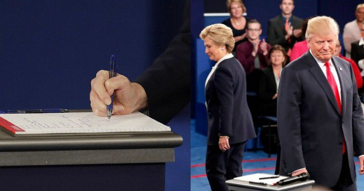 Bad News For Hillary After Trump Shows What She Gave Him On Debate Stage