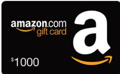 Win $1000 Amazon Gift Card!