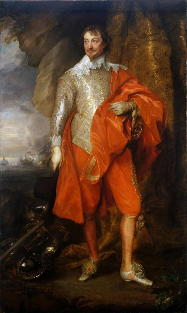 Robert Rich, 2nd Earl of Warwick, c. 1632-1635, Anthony van Dyck.