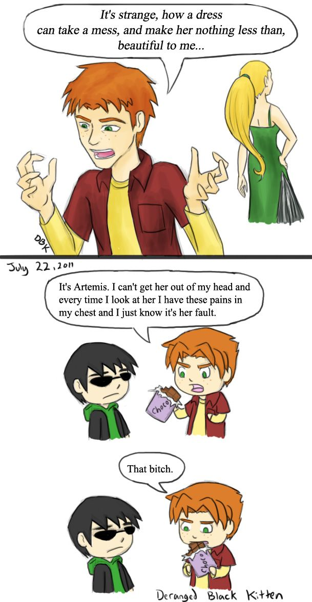 A Very Young Justice Musical by ~DerangedBlackKitten on deviantART