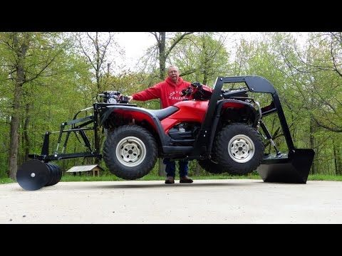 25 Unique Atv Attachments Ideas On Pinterest Atv Plow Atv